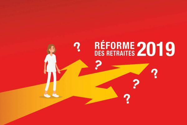 Réforme des retraites 2019: hospitaliers, ce qui  pourrait vous impacter