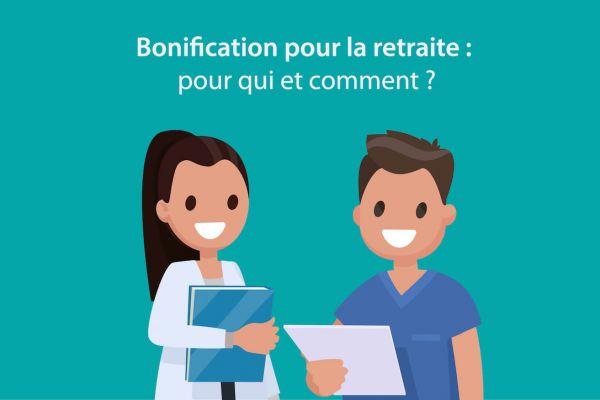 Bonifications pour la retraite dans la Fonction publique hospitalière : pour qui et  comment ?