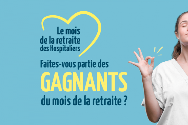 "Résultats des Jeux ""Mois de la Retraite des hospitaliers"". Découvrez si vous faites partie des heureux gagnants !"