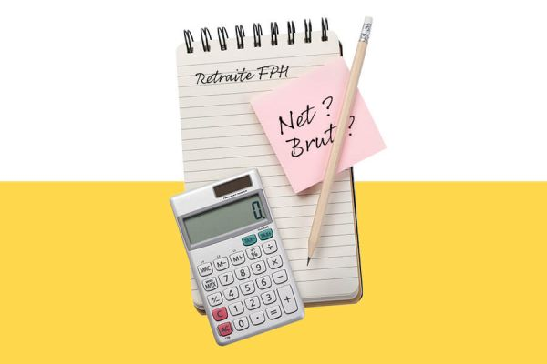 Calcul de la retraite (brut/net) pour la fonction publique hospitalière
